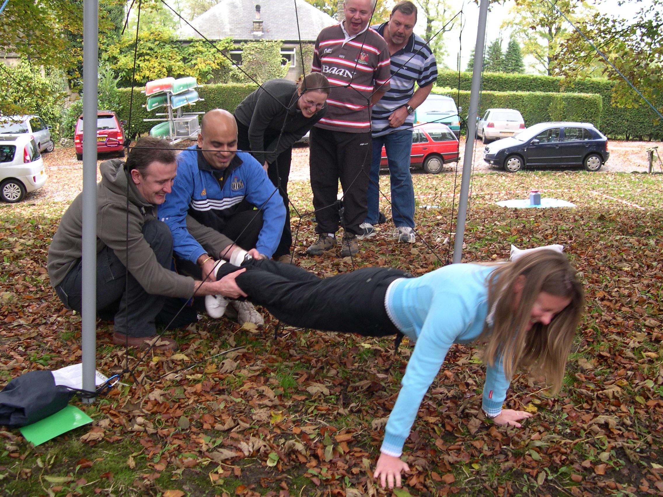 Team Building Outdoor Activities in Wales Blue Mountain Activities
