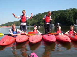 Canoeing for school groups