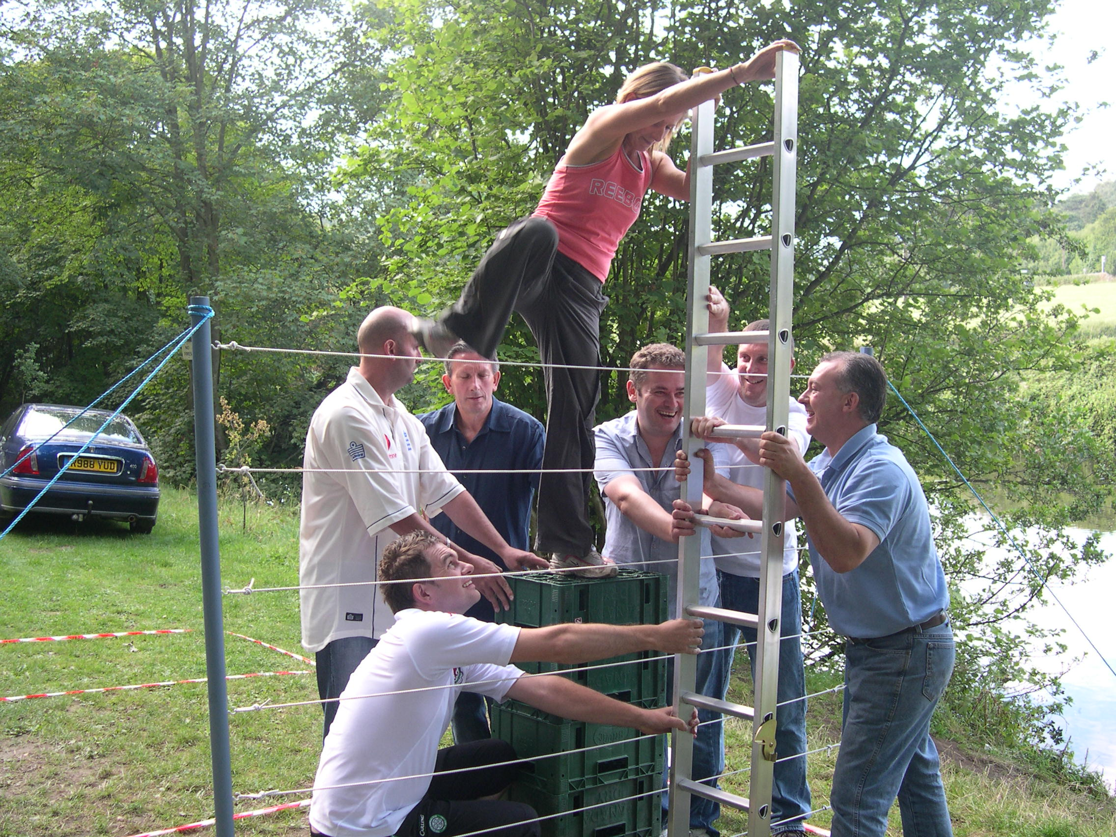 Corporate Events and Outdoor Activity Team Building with Blue Mountain