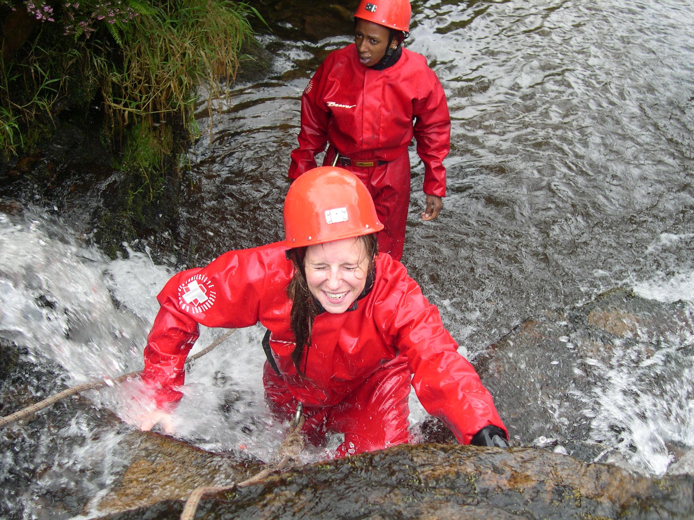 Gorge Scrambling in Wales