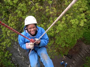 Abseiling for school groups